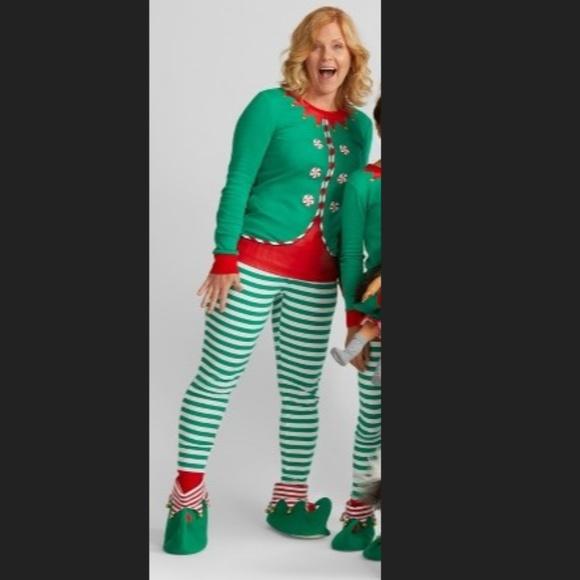 XXL Wondershop by Target Elf Pajamas   Slippers d649b9dde